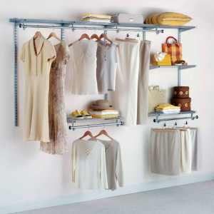 rubbermaid-closet-organizers-with-wood-hanger